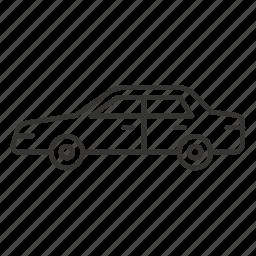 automobile, bodies, body, car, sedan, transport, vehicle icon