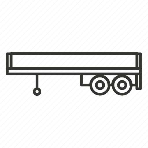 bodies, car, delivery, trailer, transportation, vehicle icon
