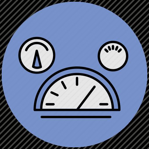 car, dashboard, defaults, garage, meter, speed, transport icon