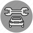 car, repair, service, services, srewdriver, support, tools icon