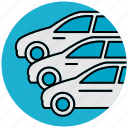 automobile, car, dealership, service, services, transport, vehicle icon