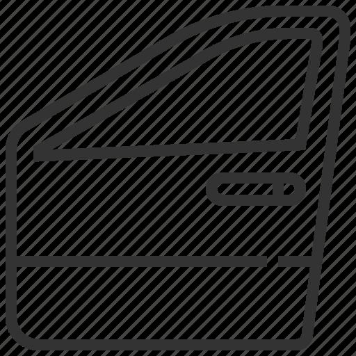 automobile, car, door, equipment, machine, transport, transportation icon