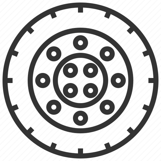 automobile, car, equipment, machine, service, transportation, wheel icon