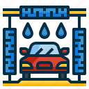 auto, automobile, car, clean, cleaner, service, wash icon