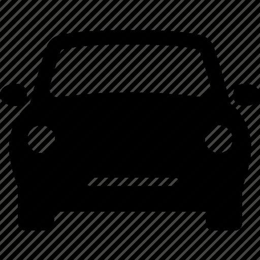 auto, automobile, car, compact, front, sports icon