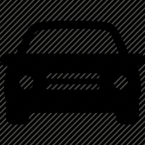auto, automobile, car, compact, front, vehicle icon