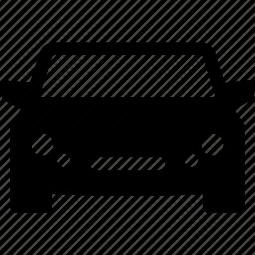 autio, automobile, car, front, sedan icon