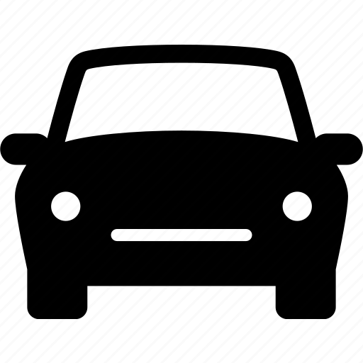 auto, automobile, car, front, generic, view icon