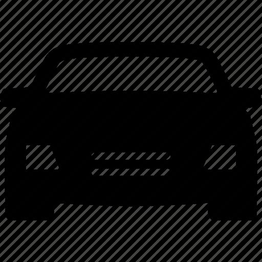 auto, automobile, car, front, luxury, sedan icon