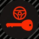key warning, light, lock key, steering, steering lock, steering lock warning, warning