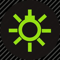 car, lamp, light, sidelight, sidelight information, sidelight warning, warning icon