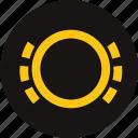 brake pad, brake pad monitoring, brake pad warning, brake warning, light, warning, warning light