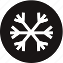 air, cold, ice, snow, warning light, winter, winter mode icon