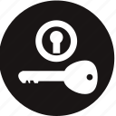door lock, ignition switch, ignition switch warning, key lock, lock, switch, warning light icon