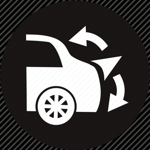auto, car, car care, light, rear spoiler, rear spoiler warning, warning light icon