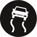 control, electronic stability programme, rain slippery, road, slipper, slippery roads, stability control off icon