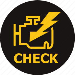 check, emission control lamp, emissions warning, engine, engine warning, enigine check, warning light icon