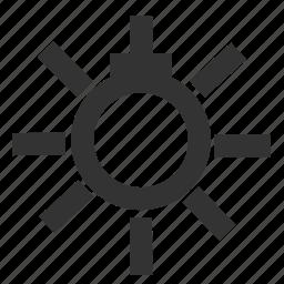 light, sidelight, sidelight information, sidelight warning, warning icon