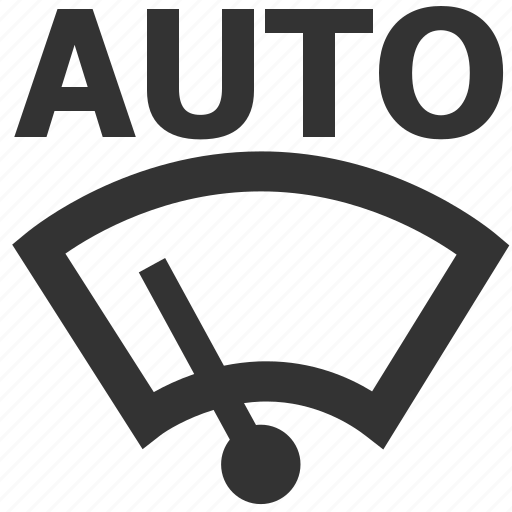auto, auto windscreen wiping, light, warning, windscreen wiping, wiping icon