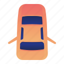 back, car, door, open, transportation, vehicle icon