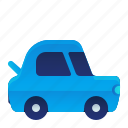 back, car, open, transportation, trunk, vehicle icon