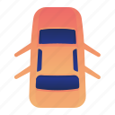 car, door, open, transportation, vehicle icon