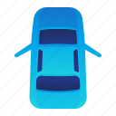 car, door, front, open, transportation, vehicle icon