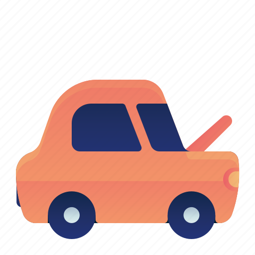 Car, front, hood, open, transportation, vehicle icon - Download on Iconfinder