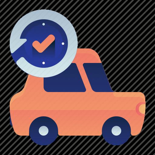 Car, check, regular, transportation, vehicle icon - Download on Iconfinder