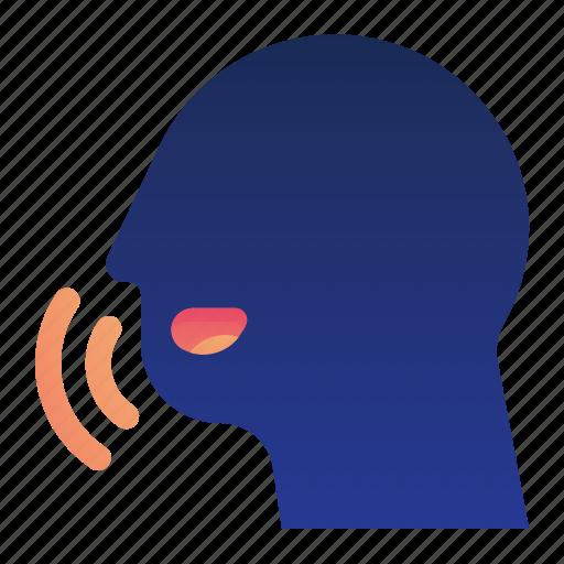 car, control, transportation, vehicle, voice icon