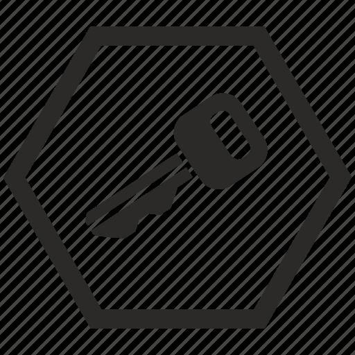 access, car, indicator, key icon