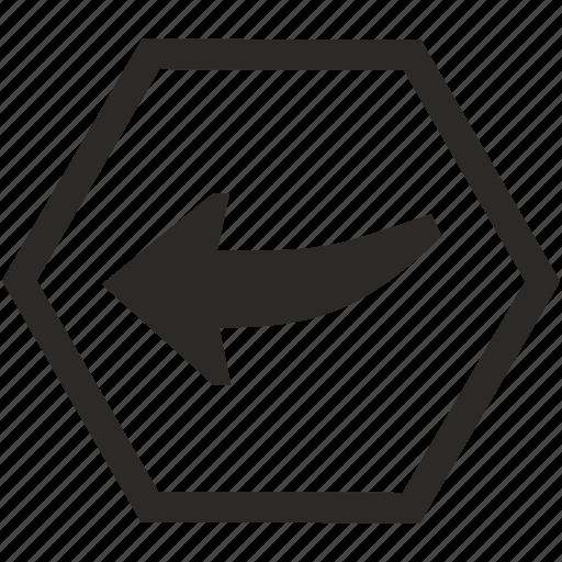 auto, car, indicator, left, light icon