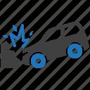 accident, car, crash