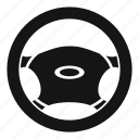 car, circle, control, steering, transportation, vehicle, wheel icon