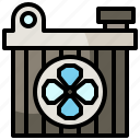 air, car, conditioner, filter, mechanic, transportation icon