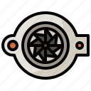 car, engine, mechanic, part, pump, transportation, water icon
