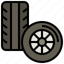 automobile, car, pneumatic, racing, transportation, vehicle, wheel icon