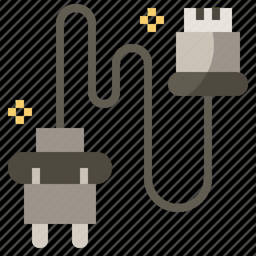 cap, component, distribution, ignition, mechanic, transportation, wire icon