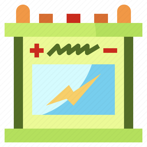 battery, electricity, power, replacement, transportation icon