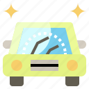 automobile, car, transportation, vehicle, windshield, wiper icon