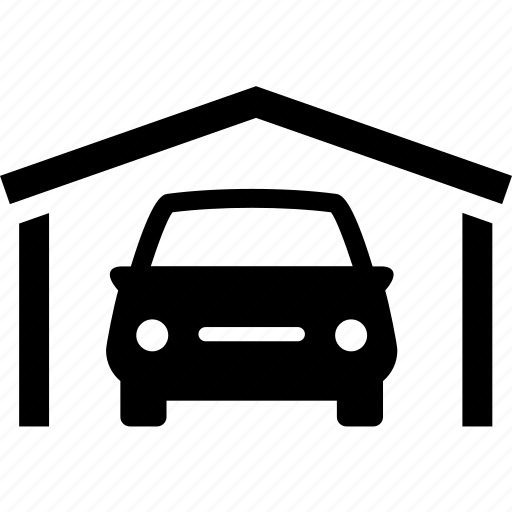 auto, automobile, car, car wash, garage, parked icon