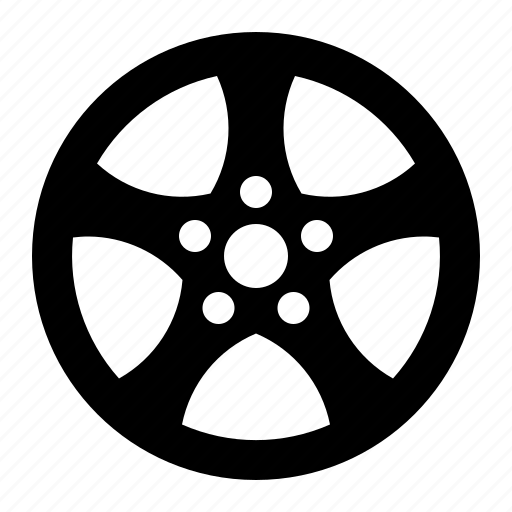 automobile, cap, car, hub, part, wheel icon