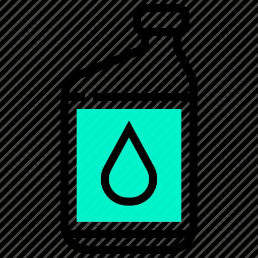 bottle, chemical, engine, liquid, oil icon