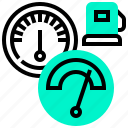gauge, measure, oil, pressure, scale icon