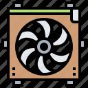 cooling, engine, fan, radiator, ventilator