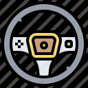 car, controller, part, steering, wheel