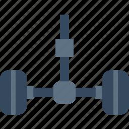 car, part, vehicle, wheels icon