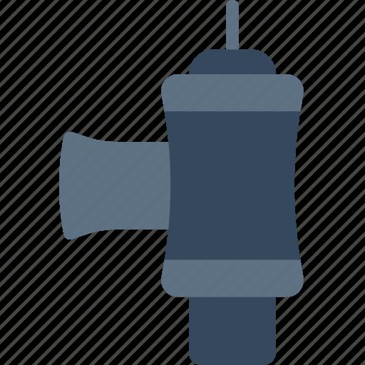blow, car, off, part, valve, vehicle icon
