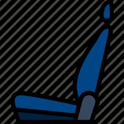 car, part, seat, vehicle icon