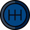 car, part, shifter, vehicle icon